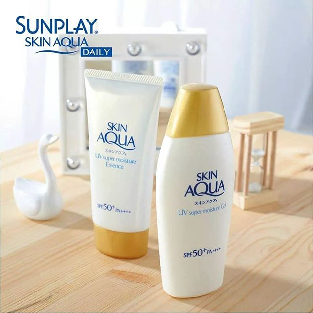 Rohto Skin Aqua Super Moisture Essence Sunscreen
